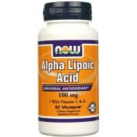 Alpha Lipoic Acid 100mg (60капс)